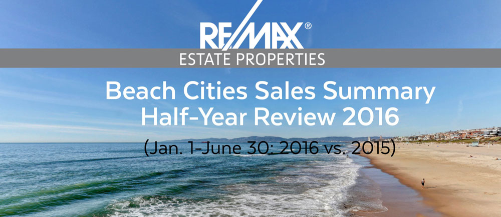 RE/MAX Estate Properties Beach Cities Sales Update